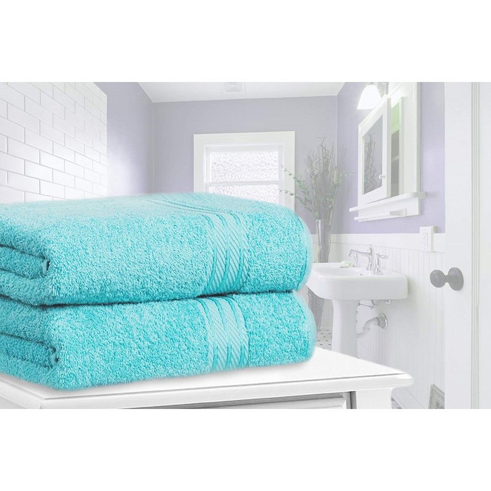 Restmor Knightsbridge 100% Egyptian Cotton Set of 2 XL Bath Sheets