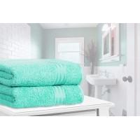 Restmor Knightsbridge 100% Egyptian Cotton Set of 2 XL Bath Sheets