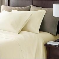 Linens Bed Sheet 100% Egyptian Cotton 200 Thread Count Flat Sheet