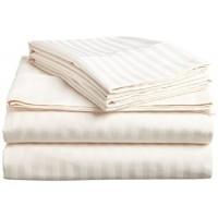 Crafs Linen One Qty Flat Sheet - Egyptian Cotton 500-TC Sateen, smooth, comfort