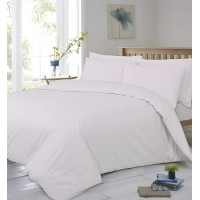 Linen Zone 400 Thread Egyptian Cotton 30CM/12 Inch Deep Fitted Bed Sheet, Comfort